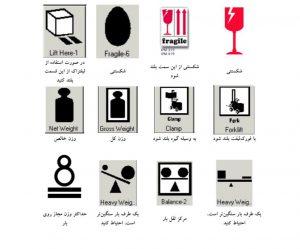 علائم ونشانه های حمل بار بین المللی 33